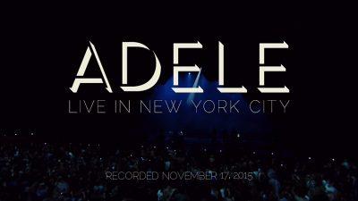 Adele Live in New York (2015)